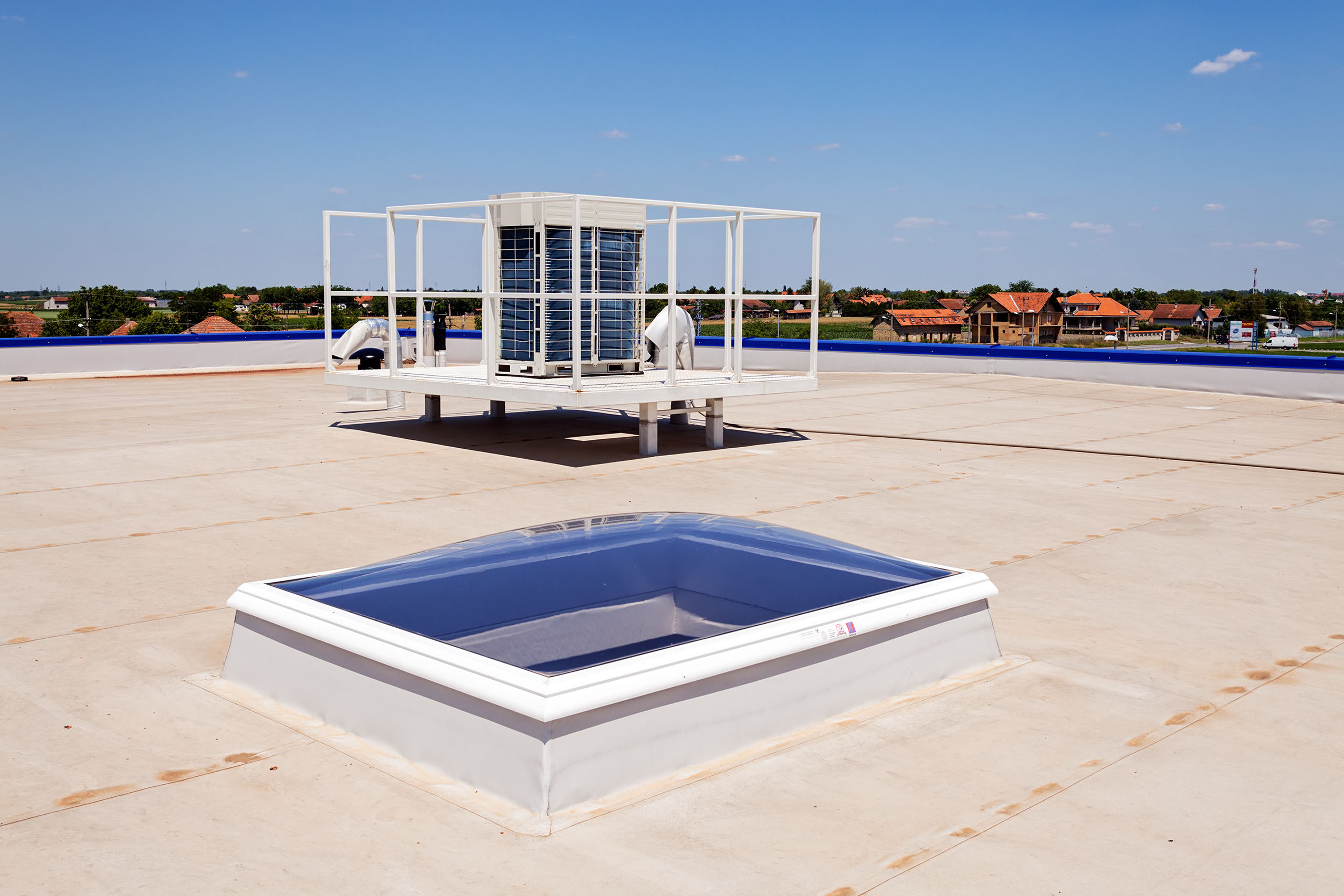 Flat Roofs In Selby Commercial Roofer In York Grp Roofs